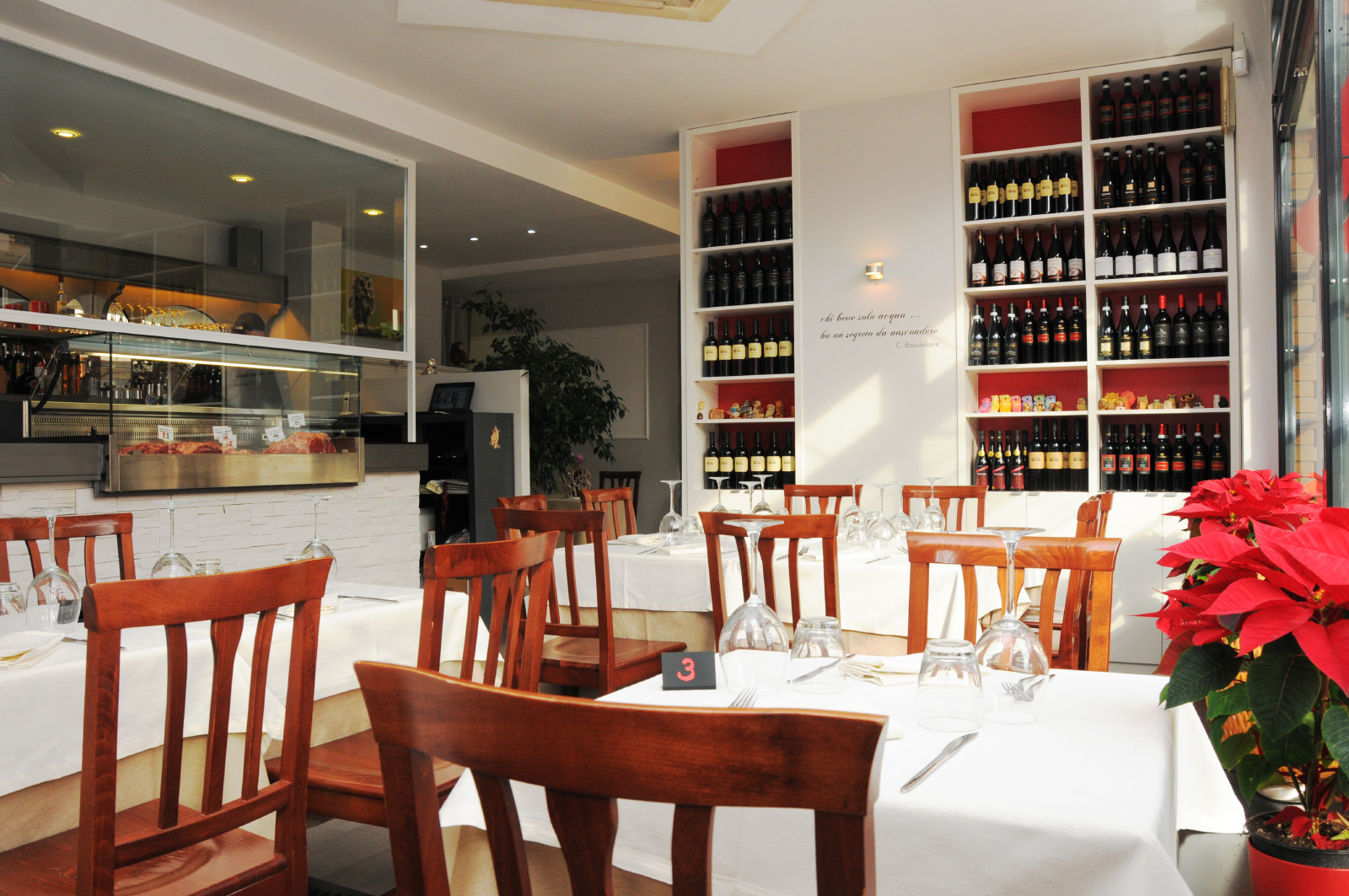 homepage background ristorante l' oste e la civetta roma eur